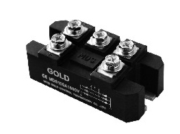 Three phase rectifier bridge module
